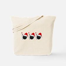 Christmas Bowling Tote Bag
