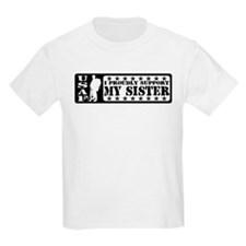 Proudly Support Sis - USAF T-Shirt