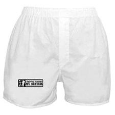 Proudly Support Sis - USAF Boxer Shorts