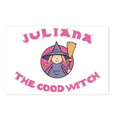 Juliana the Good Witch Postcards (Package of 8)