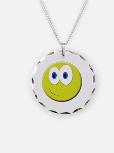Cool Smiley face emoticon Necklace