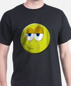 Funny Smiley face emoticon T-Shirt