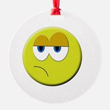 Cute Smiley face emoticon Ornament
