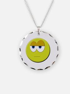 Funny Smiley face emoticon Necklace