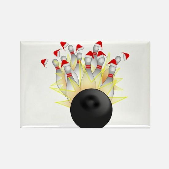 Christmas Bowling Magnets