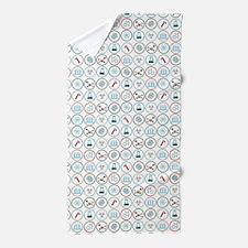 Pattern of Science - Ep. 2 Beach Towel