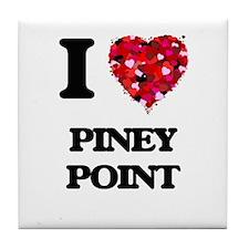 I love Piney Point Massachusetts Tile Coaster
