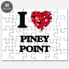 I love Piney Point Massachusetts Puzzle