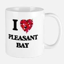 I love Pleasant Bay Massachusetts Mugs