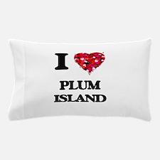 I love Plum Island Massachusetts Pillow Case