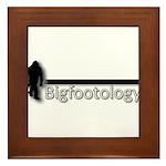 Bigfootology Bar Logo Framed Tile