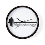 Bigfootology Bar Logo Wall Clock