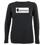 Bigfootology Bar Logo Plus Size Long Sleeve Tee