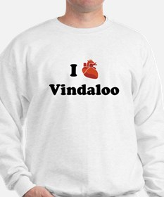 I (Heart) Vindaloo Sweatshirt