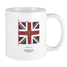 93d highland Infantry, King's Colour Mug
