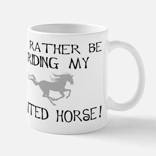 Rather-Gaited Horse Large Mugs