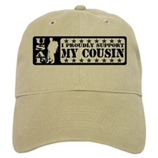 Proudly Support Cousin - USAF Baseball Cap