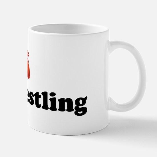 I (Heart) Ural Wrestling Mug