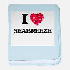 I love Seabreeze Massachusetts baby blanket