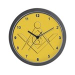 The Masons Canvas Wall Clock