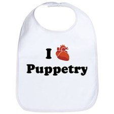 I (Heart) Puppetry Bib
