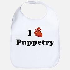 I (Heart) Puppetry Bib