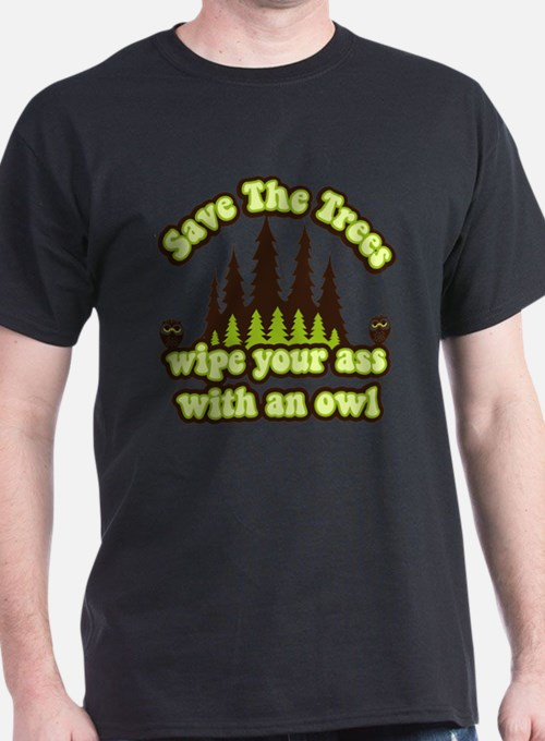 Cute Owl tree T-Shirt