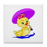 Baby Duck Tile Coaster