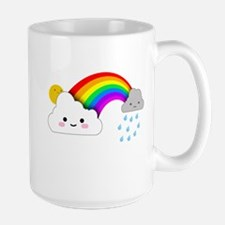 Super Cute Clouds and Rainbow Mugs
