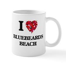 I love Bluebeards Beach Virgin Islands Mugs