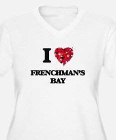 I love Frenchman'S Bay Virgin Is Plus Size T-Shirt