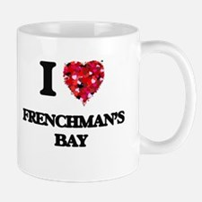 I love Frenchman'S Bay Virgin Islands Mugs