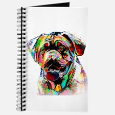 Colorful Bulldog Journal