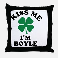 Unique Boyle Throw Pillow