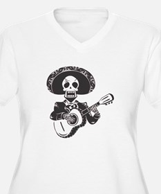 Mariachi of the Dead Plus Size T-Shirt