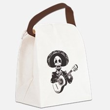 Mariachi of the Dead Canvas Lunch Bag