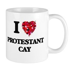I love Protestant Cay Virgin Islands Mugs