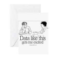 Unique Geek Greeting Card