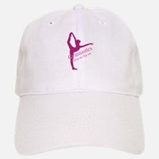 Gymnastics Makes Me Flip Out Baseball Baseball Cap