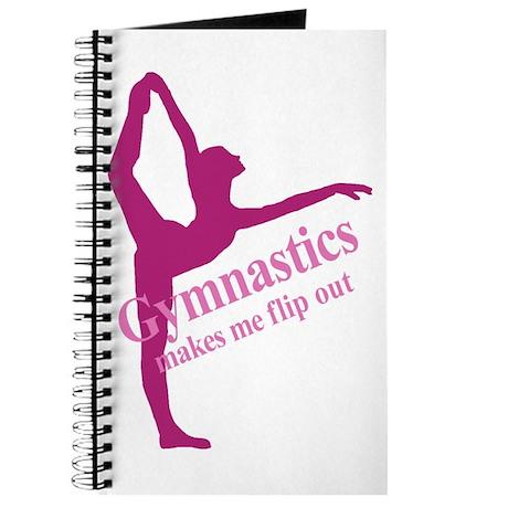 Gymnastics Makes Me Flip Out Journal