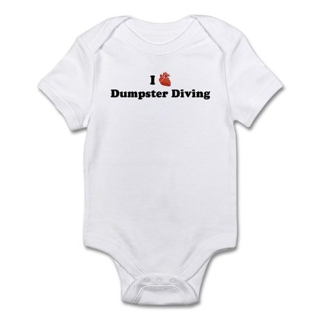 I (Heart) Dumpster Diving Infant Bodysuit