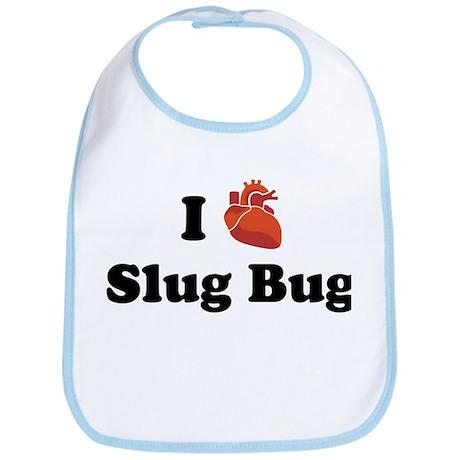 I (Heart) Slug Bug Bib