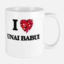 I love Unai Babui Northern Mariana Islands Mugs