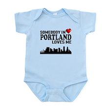 Somebody In Portland Loves Me Body Suit