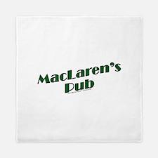 MacLaren's Pub Queen Duvet