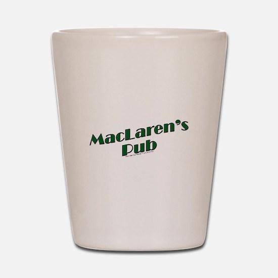 MacLaren's Pub Shot Glass