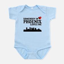 Somebody In Phoenix Loves Me Body Suit