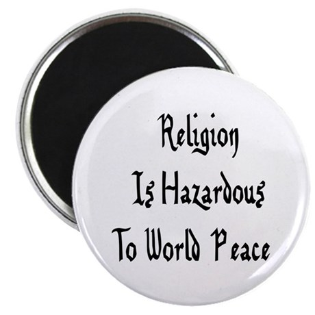 "Anti-Religion 2.25"" Magnet (100 pack)"