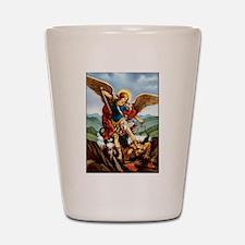 Saint Michael the Archangel Shot Glass