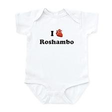 I (Heart) Roshambo Infant Bodysuit